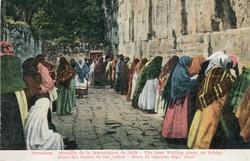 """<bdi class=""""metadata-value"""">Jerusalem : Muraille de la lamentation de Juifs = The Jews Wailing Place on Friday = Muro del blanto de los Judios = Muro di Lamento degli ebrei</bdi>"""