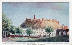 """<bdi class=""""metadata-value"""">Aleppo : View from the Kuwek at the citadel = Blick vom Kuwek aus auf die citadelle = Vue du Kuwek à la citadelle</bdi>"""