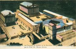 """<bdi class=""""metadata-value"""">Baalbeck : les temples de Jupiter et de Bacchus reconstitués par le Prof. Dr. Bruno Schulz</bdi>"""
