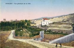 """<bdi class=""""metadata-value"""">Baalbek : Vue générale de la ville</bdi>"""