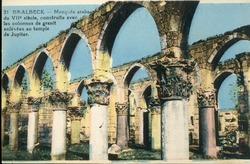 """<bdi class=""""metadata-value"""">Baalbeck : Mosquée arabes du VIIe siècle construite avec les colonnes de granit enlevées au temple de Jupiter</bdi>"""